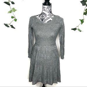 American Eagle Knit A Line Knit Sweater Dress